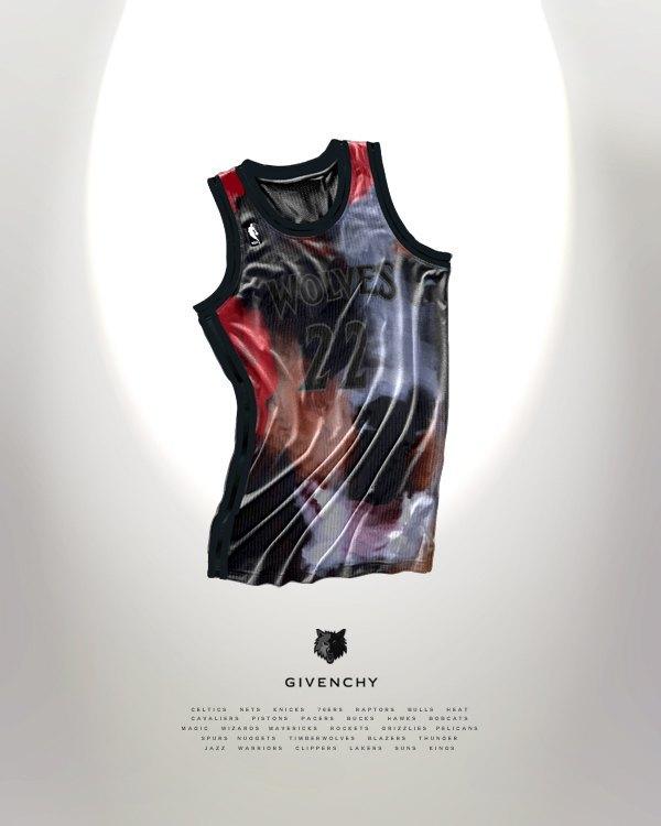 Канадский дизайнер представил, как бы выглядела форма NBA в исполнении культовых брендов. Изображение № 8.