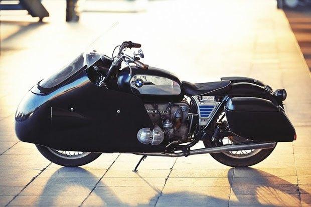Себ Лоренц собрал новый байк на базе BMW R60/5. Изображение № 1.