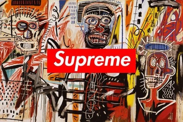 Марка Supreme выпустит одежду, оформленную работами художника Жана-Мишеля Баския. Изображение № 1.