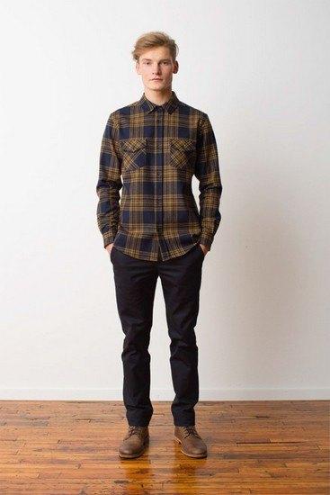 Марка Pendleton выпустила лукбук осенней коллекции одежды. Изображение № 12.