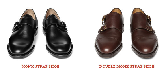 Монк Ами: Мужские туфли на застежке. Изображение №14.