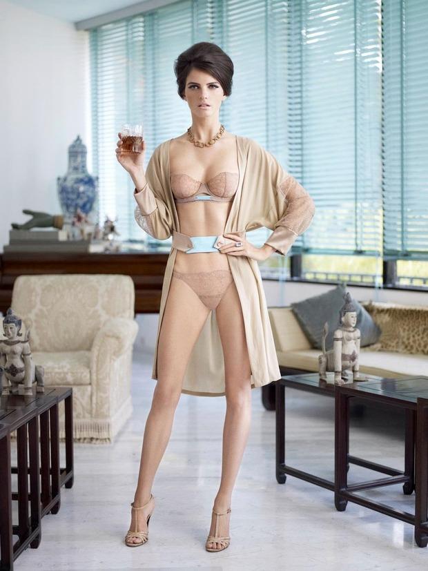 Модель Джейза Чиминаццо снялась в рекламе нижнего белья La Perla. Изображение № 1.
