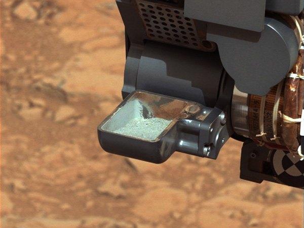 Марсоход Curiosity установил, что на Красной планете в прошлом были условия для жизни. Изображение № 1.