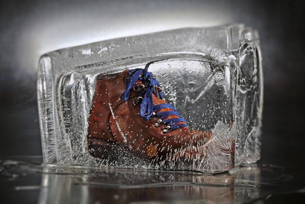 Тест-драйв зимних ботинок в кубах льда. Изображение № 5.