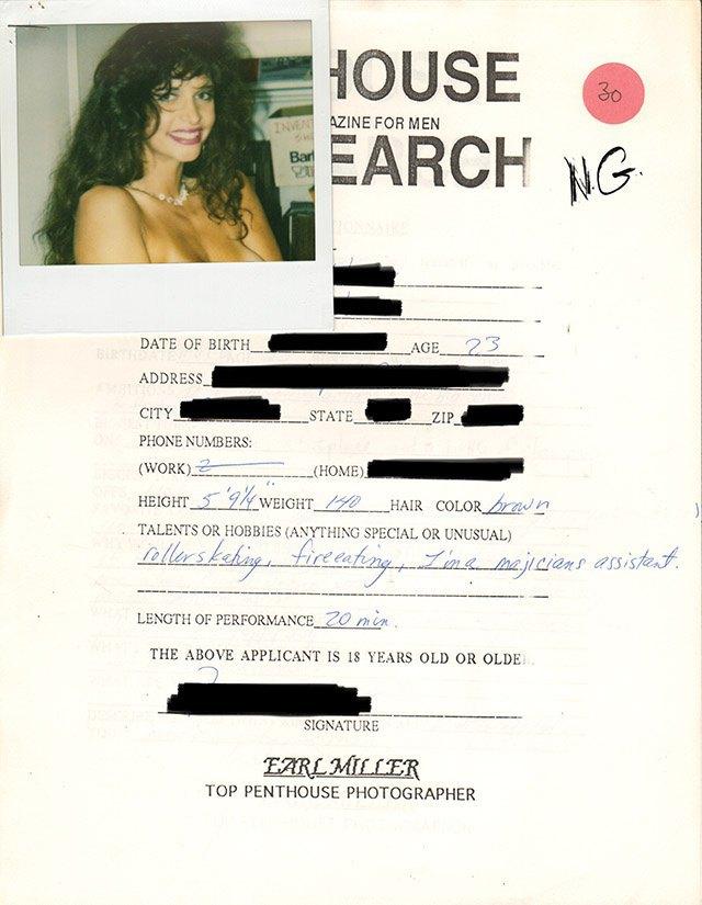 Опубликованы анкеты неудавшихся моделей журнала Penthouse. Изображение № 2.