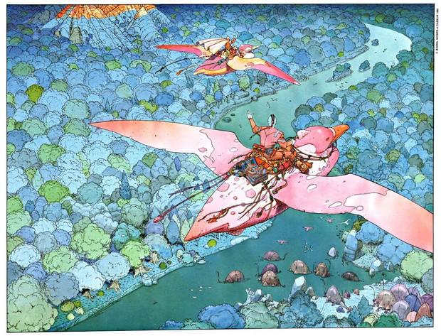 Умер французский художник Мебиус, работавший над картинами «Чужой» и «Бегущий по лезвию». Изображение № 1.