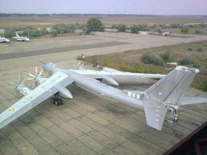 На Ebay выставили на продажу советский бомбардировщик Ту-95МС. Изображение № 1.