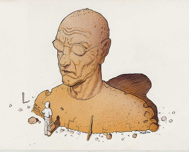 Умер французский художник Мебиус, работавший над картинами «Чужой» и «Бегущий по лезвию». Изображение № 2.