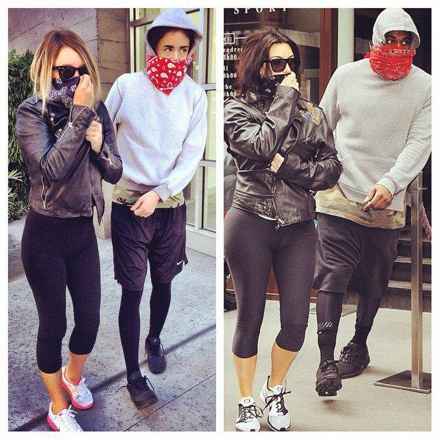 Косплей Канье Уэста и Ким Кардашьян в блоге What Would Yeezus Wear?. Изображение № 5.
