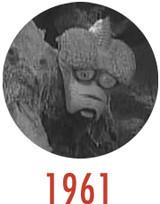 Эволюция инопланетян: 60 портретов пришельцев в кино от «Путешествия на Луну» до «Прометея». Изображение № 23.
