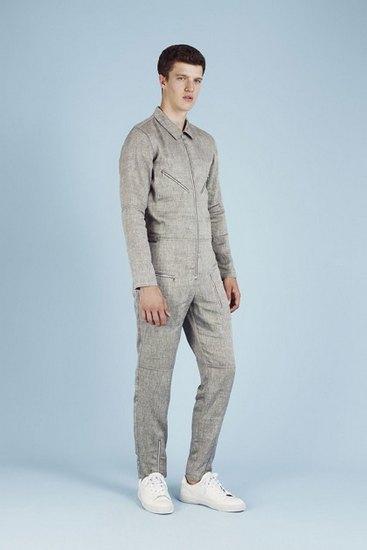 Французская марка A.P.C. выпустила лукбук весенней коллекции одежды. Изображение № 5.