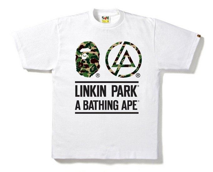 Марка A Bathing Ape и группа Linkin Park выпустили совместную коллекцию футболок. Изображение № 5.