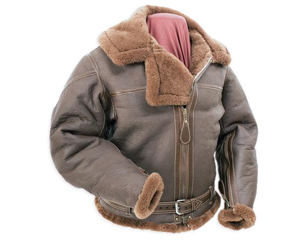 На высоте: История и особенности легендарной пилотской куртки на меху — B-3. Изображение № 10.