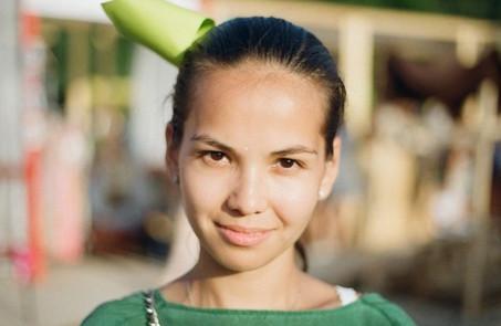 Фоторепортаж: Красивые девушки на Пикнике «Афиши». Изображение № 53.