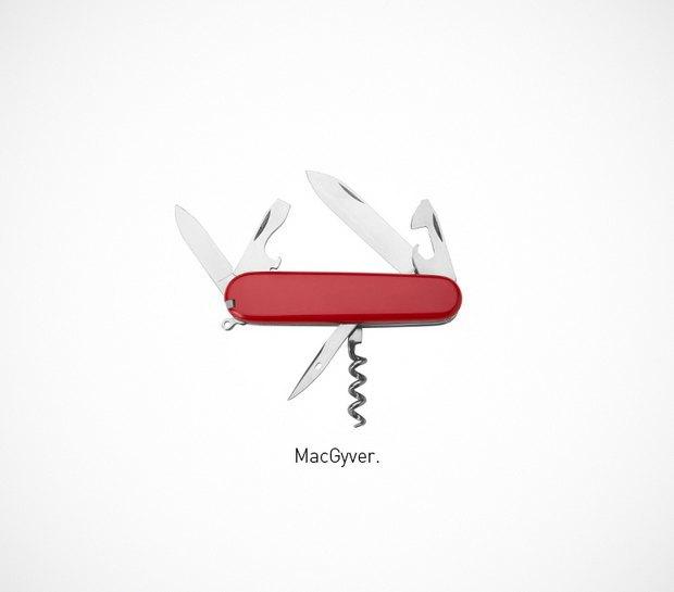 Итальянский дизайнер представил коллекцию ножей знаменитых персонажей. Изображение № 15.
