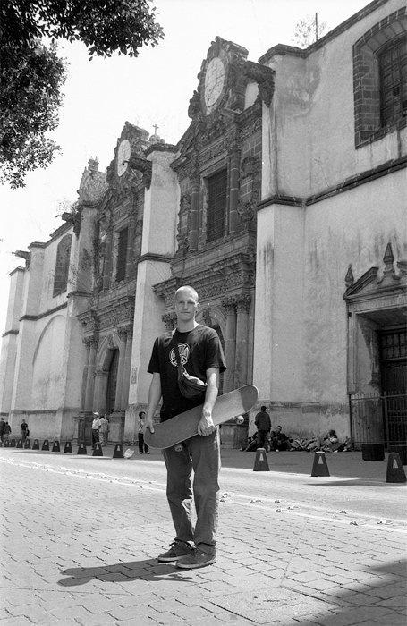 Фотоблог скейтера: Алексей Лапин о поездках в Мексику и Белоруссию. Изображение № 8.