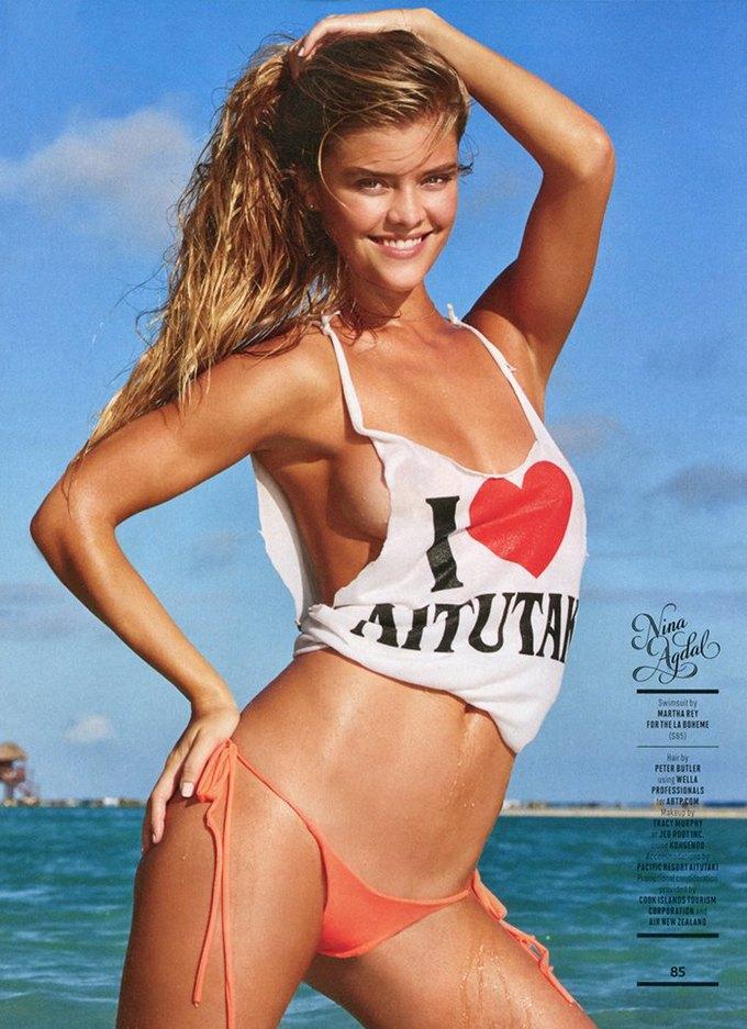 Вышел 50-й, юбилейный номер Sports Illustrated Swimsuit, посвящённый супермоделям в купальниках. Изображение № 8.