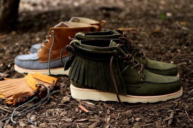 Дизайнер Ронни Фиг и марка Sebago выпустили капсульную коллекцию обуви. Изображение № 6.