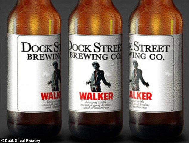 В США сварили пиво «для зомби» из копчёных мозгов козла . Изображение № 1.