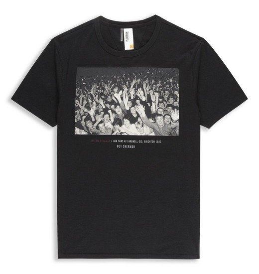 Марка Ben Sherman и музыкальный фотограф Джанет Бекман выпустили совместную коллекцию футболок. Изображение № 6.