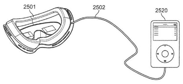 Apple запатентовала очки виртуальной реальности. Изображение № 2.