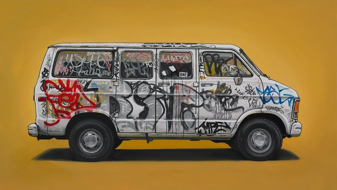 Кевин Сир: Граффити на фургонах как символ города. Изображение № 11.