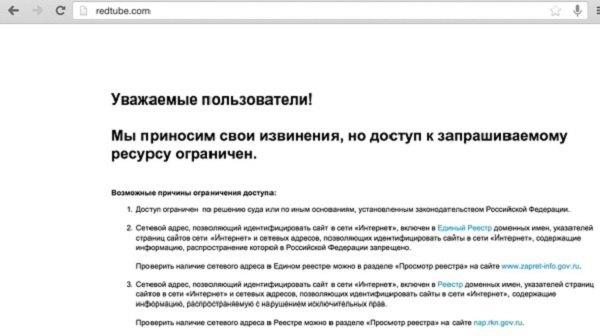 В Казахстане заблокировали около 500 порносайтов. Изображение № 1.