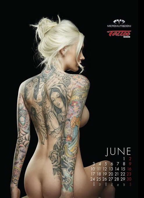 10 эротических календарей на 2013 год. Изображение № 115.