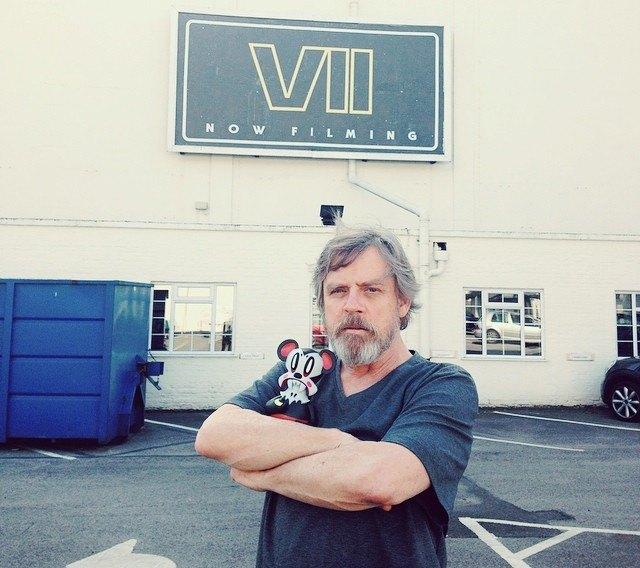 Для новых «Звёздных войн» Марку Хэмиллу пришлось отрастить бороду. Изображение № 1.