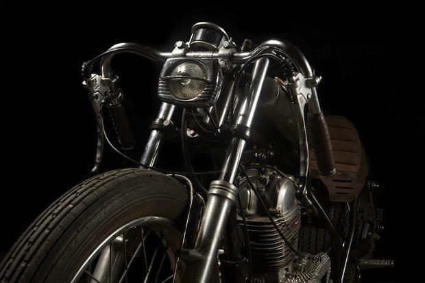 Испанская мастерская El Solitario изготовила мотоцикл Winning Loser. Изображение № 7.