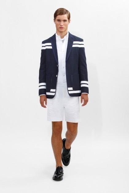 Марка Brooks Brothers представила новую коллекцию одежды линейки Black Fleece . Изображение № 8.