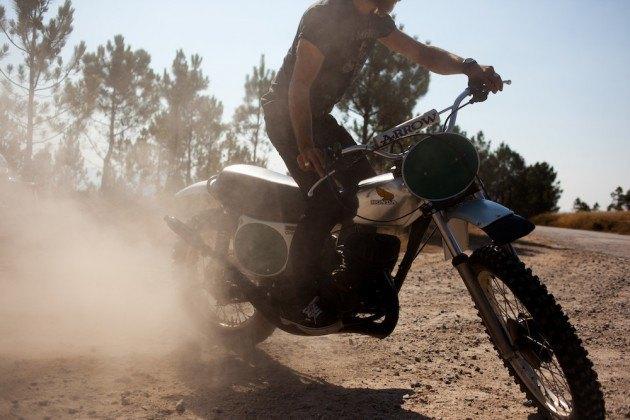 Марка Edwin совместно с мастерской Blitz Motorcycles представила лукбук новой коллекции. Изображение № 4.