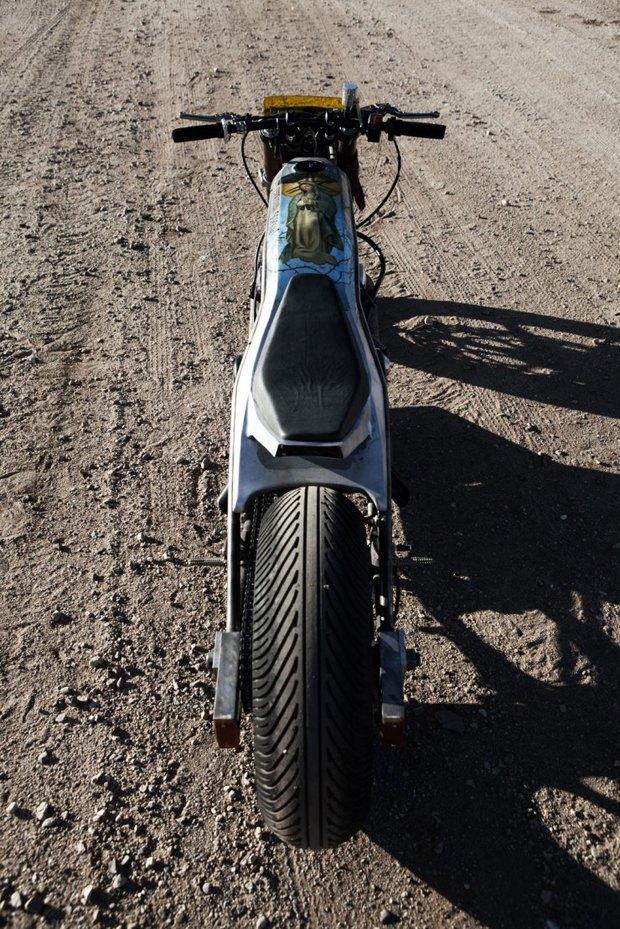 Мотомастерская Icon 1000 представила новый кастом на базе Yamaha XS650 . Изображение № 7.