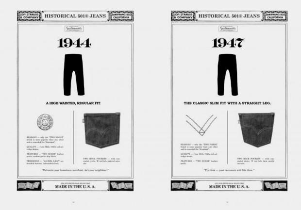 Марка Levi's Vintage Clothing выпустила лукбук осенней коллекции одежды. Изображение № 10.