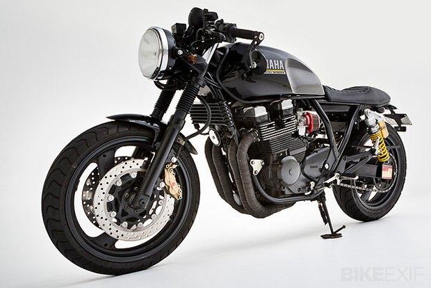 Мастерская Ellaspede представила новый кастом на базе мотоцикла Yamaha XJR400. Изображение № 5.