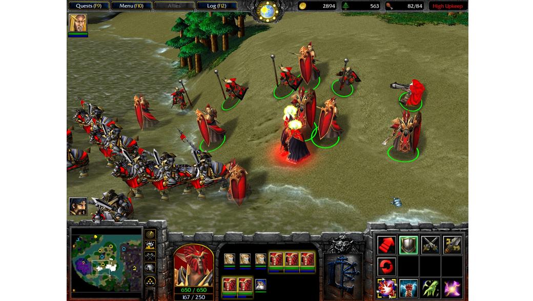 Warcraft 3 The Frozen Throne - отзывы об игре, скачивание.