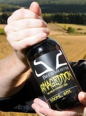 В Шотландии изготовили самое крепкое в мире 65-градусное пиво. Изображение № 7.