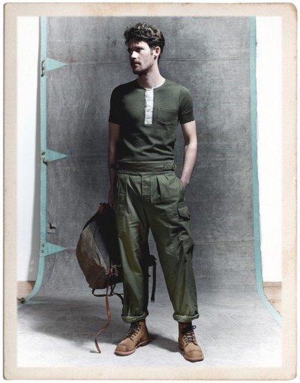 Марка Nigel Cabourn опубликовала лукбук весенней коллекции одежды. Изображение № 11.