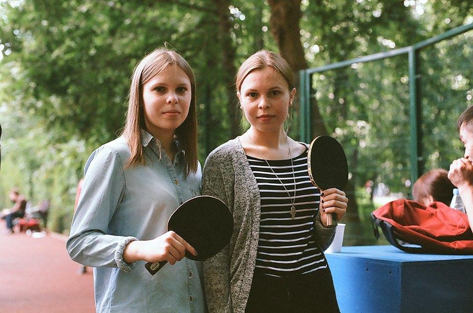 Фоторепортаж: Женский турнир по пинг-понгу в Нескучном саду. Изображение № 4.
