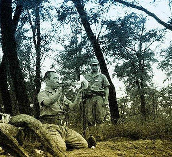 В сети появились уникальные кадры харакири японского офицера . Изображение № 7.
