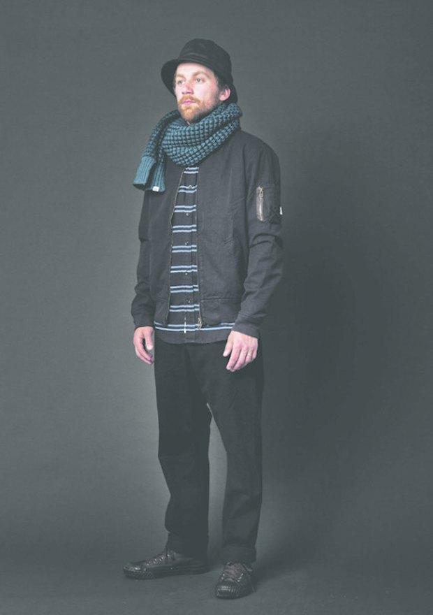 Марка Deus ex Machina опубликовала лукбук осенне-зимней коллекции 2013 года. Изображение № 14.