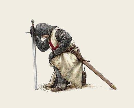 «Остроугольные туфли принадлежат язычникам»: Выдержки из Устава ордена тамплиеров. Изображение № 7.