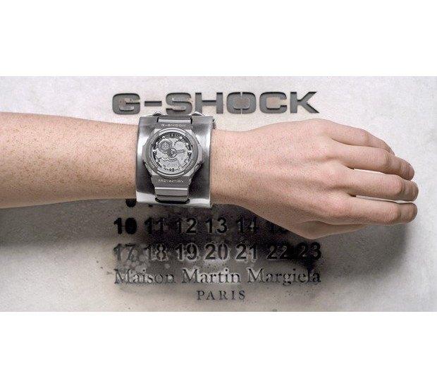 G-Shock и марка Maison Martin Margiela выпустили совместную модель часов. Изображение № 8.