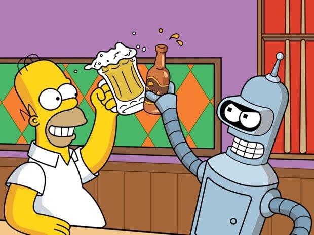 «Симпсоны» встретятся с героями «Футурамы». Изображение № 1.
