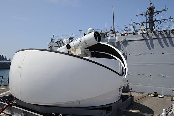 США собираются использовать боевой лазер на кораблях в Персидском заливе. Изображение № 1.