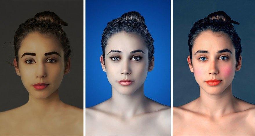 Как отличаются стандарты женской красоты в разных странах . Изображение № 11.