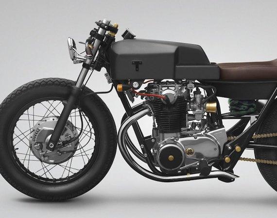 Мотомастерская Thrive Motorcycle представила каферейсер на базе Yamaha XS650 . Изображение № 2.