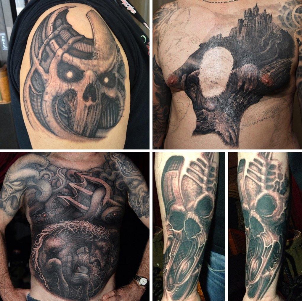 Что публикуют в своих Instagram известные татуировщики. Изображение №1.