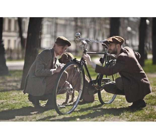 Организаторы велозаезда Tweed Ride Moscow опубликовали тематический лукбук. Изображение № 11.