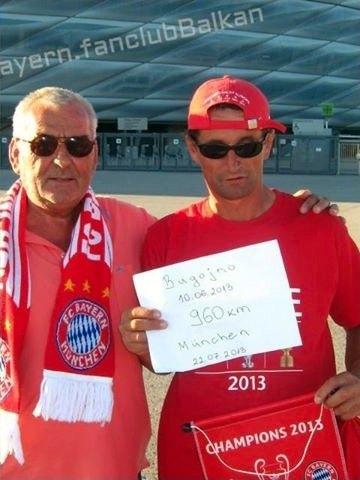 Болельщик «Баварии» прошел 960 километров пешком до стадиона. Изображение № 2.